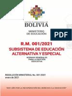 FDM 001 ALTERNATIVA
