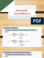 DIVISION ALGEBRAICA 6°