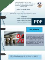 Exposición - Grupo 6 - Estructura de riesgos y plazos de tasa de interés.