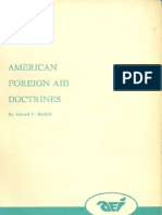 Edward C. Banfield, American Foreign Aid Doctrines