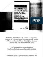 Edward C. Banfield, Big City Politics