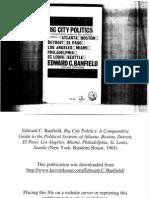 Edward C. Banfield, Big City Politics