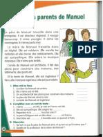 ALF 2  Leçon 4 Les parents de Manuel (jobs)