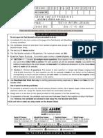 Mains Test- 1[17-05-2020]