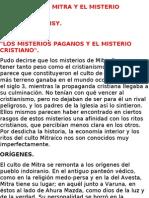 MITRA Y EL MISTERIO CRISTIANO-POR ALFRED LOISY