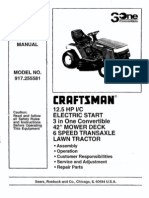 craftsman 12hp