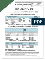 Mauricim Fiche technique ciments 42.5 R PM-CP2 V1.1 (1)
