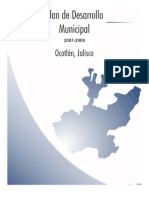 Plan Municipal de Desarrollo 2007-2009 Ocotlan