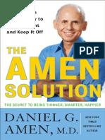 The Amen Solution by Daniel G. Amen MD - Excerpt