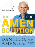 The Amen Solution by Daniel G. Amen MD - Excerpt