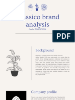 Classic brand analysis