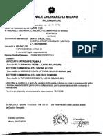 Fallimento Dentix - Tribunale di Milano