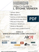 Architect Natural Stone Veneer Guide