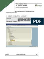 AR F.30 - Relatório Aging List