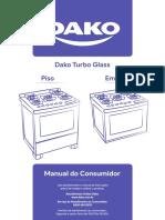 Manual de instrução dako turbo glass