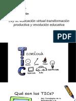 las tic en la educación virtual