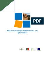 Manual de Formação documentação administrativa