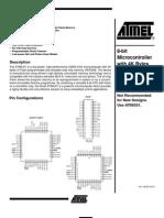 AT89C51 Data Sheet