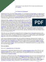 Islamiat-Life Of Prphet(PBUH)