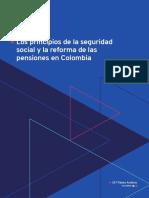 principio del sistema de seguridad social en colombia 2020 OIT