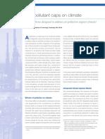 Air Pollutant Caps Climate 2005 V14 Nr2