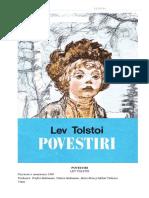 Povestiri Tolstoi