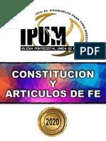 constitucion ipum 2020