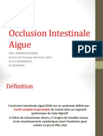Occlusion ale Aigue 2011