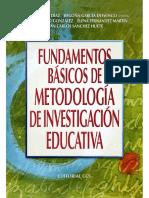 Fundamentos básicos de metodología de investigación educativa - José Quintanal Díaz.pdf