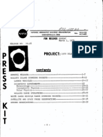 1970 Solar Eclipse Press Kit
