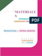 Exploracion ProduccionDeTextos