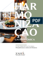 Ebook Harmonizacao Gastronomica - 2020