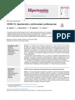 Hipertensión y COVID-19