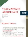 Traumatismes Abdominaux  2011