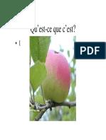 Définir la pomme