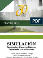 7. Planeación del modelo de simulación (Validación)