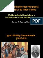 Establecimiento del Programa de Control de Infecciones.ppt