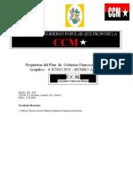 PROGRAMA DE GOBIERNO 2021-2020-2024-CCM