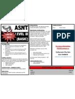 ASNT Level III