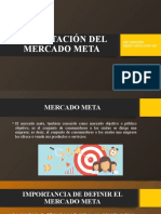 DELIMITACIÓN DEL MERCADO META