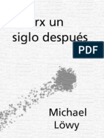 Löwy, Michael - Marx Un Siglo Despues