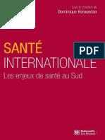 (Hors collection) Dominique Kerouedan - Santé internationale _ les enjeux de santé au Sud-Presses de Sciences Po (2011)