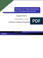Topology Presentation
