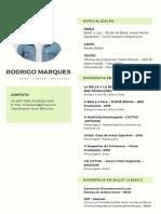 Rodrigo Marques - Currículo