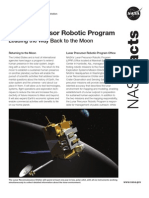 NASA Facts Lunar Precursor Robotic Program