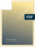 Tetracordes. Antología Poética de Orlando Paredes