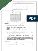 Statistics@Set1 2011