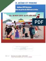 40jours Jeune Et Priere 29nov2019 07 Jan 2020