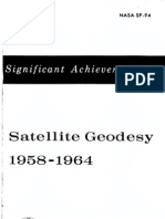 Significant Achievements in Satellite Geodesy 1958-1964