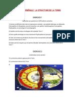 Exo 2 structure du globe